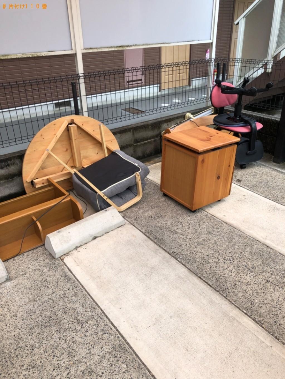 【大津市】学習机、椅子の回収・処分ご依頼 お客様の声