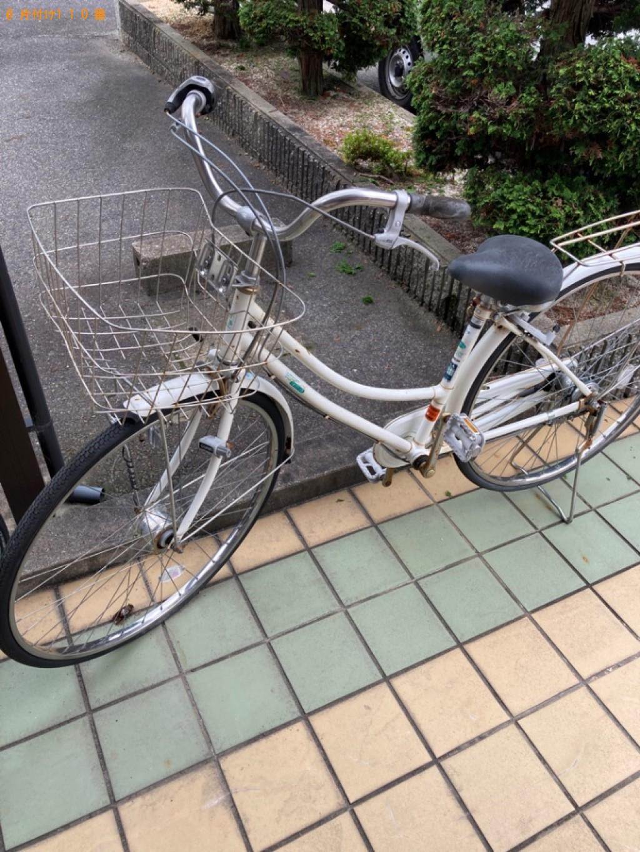 【草津市】ウレタンマットレス、自転車、ハンディ掃除機等の回収