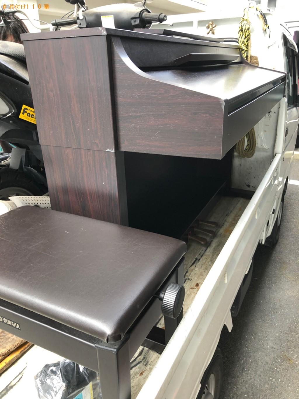 【大津市】スクーター、電子ピアノの回収・処分ご依頼 お客様の声