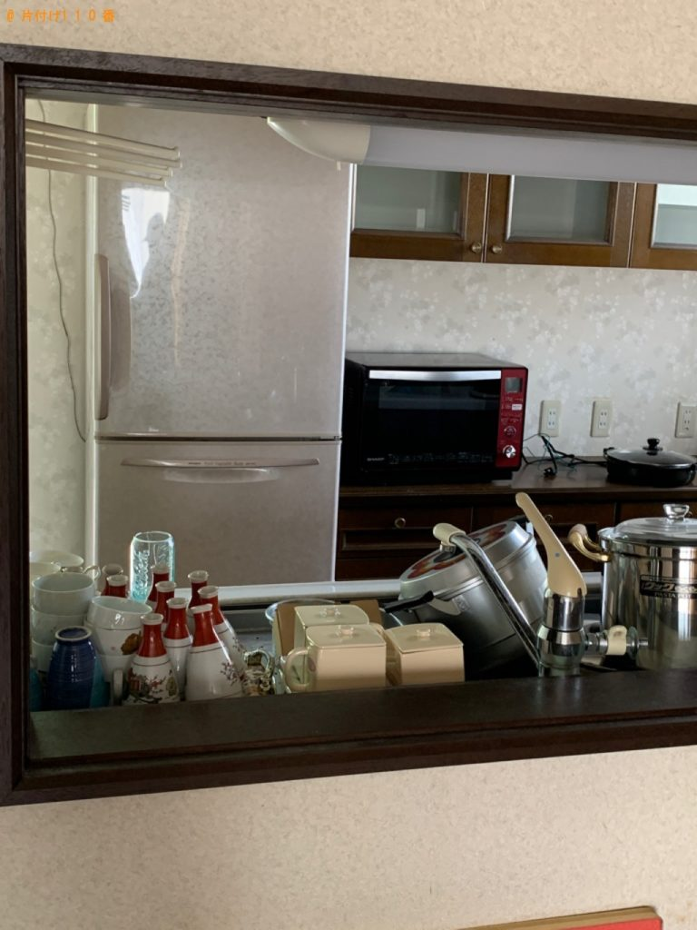 【みよし市】遺品整理に伴い冷蔵庫、テレビ、洗濯機、かご、カーペット等の回収・処分