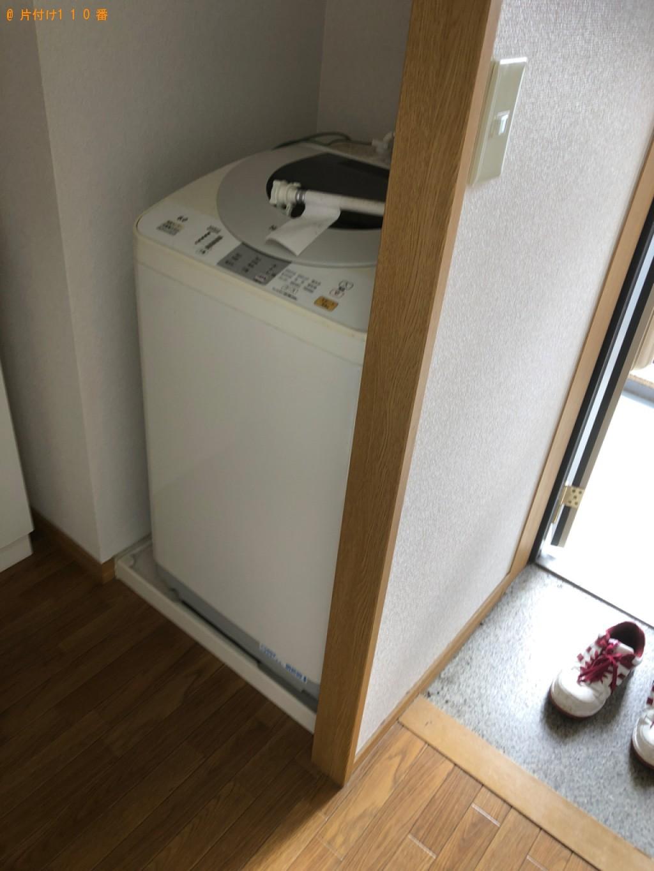 【草津市】洗濯機、こたつ、カラーボックス等の回収・処分ご依頼
