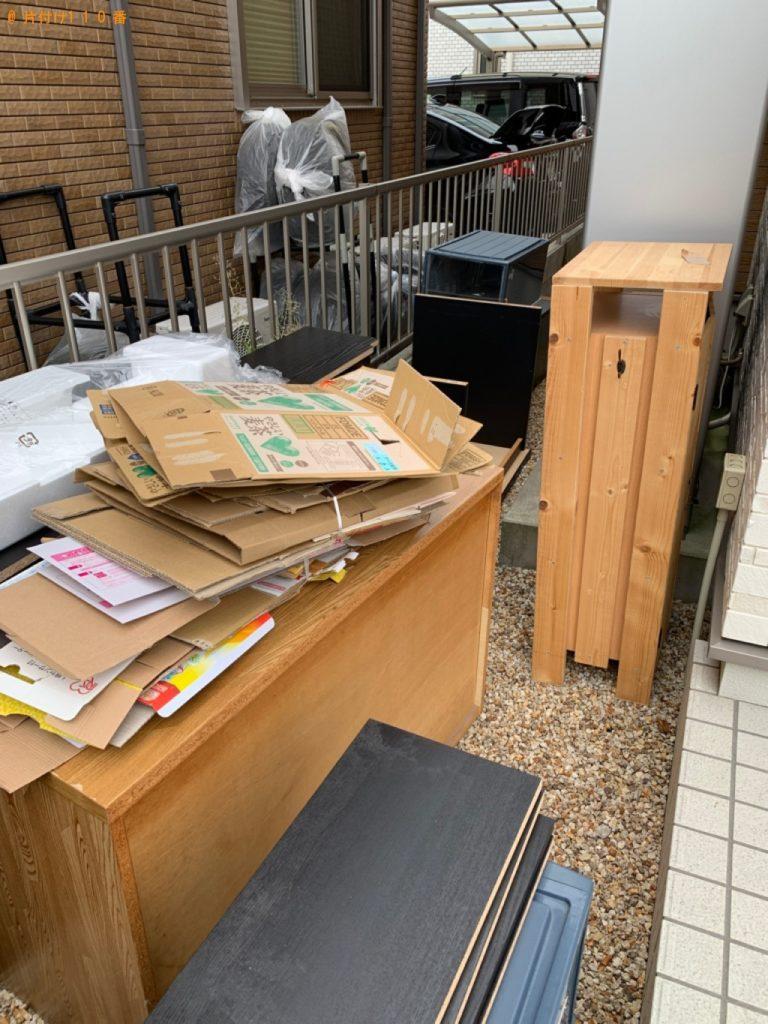 【愛西市】遺品整理に伴い本棚、タンス、食器棚、衣装ケース等の回収・処分ご依頼