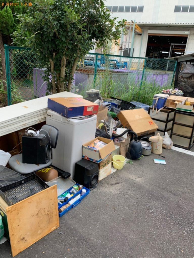 【湖南市】冷蔵庫、衣装ケース等の回収・処分ご依頼 お客様の声