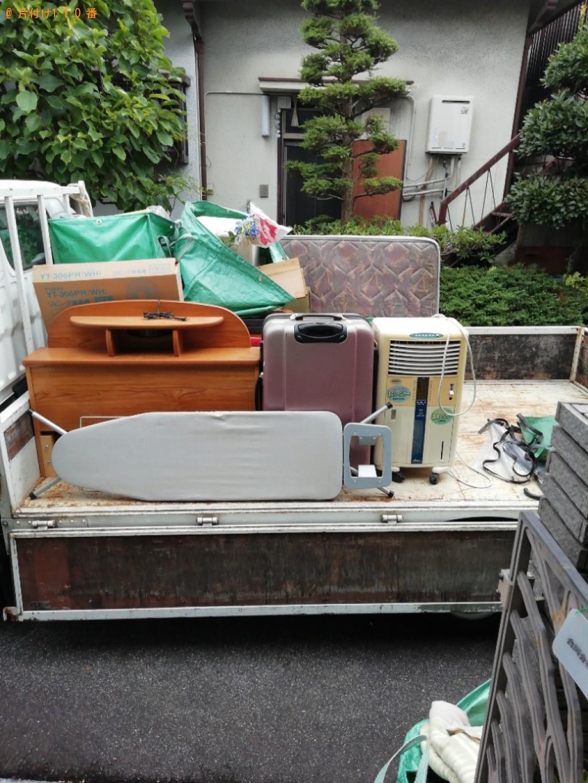 【大津市】シングルベッド、ベッドマットレス、一般ごみ等の回収