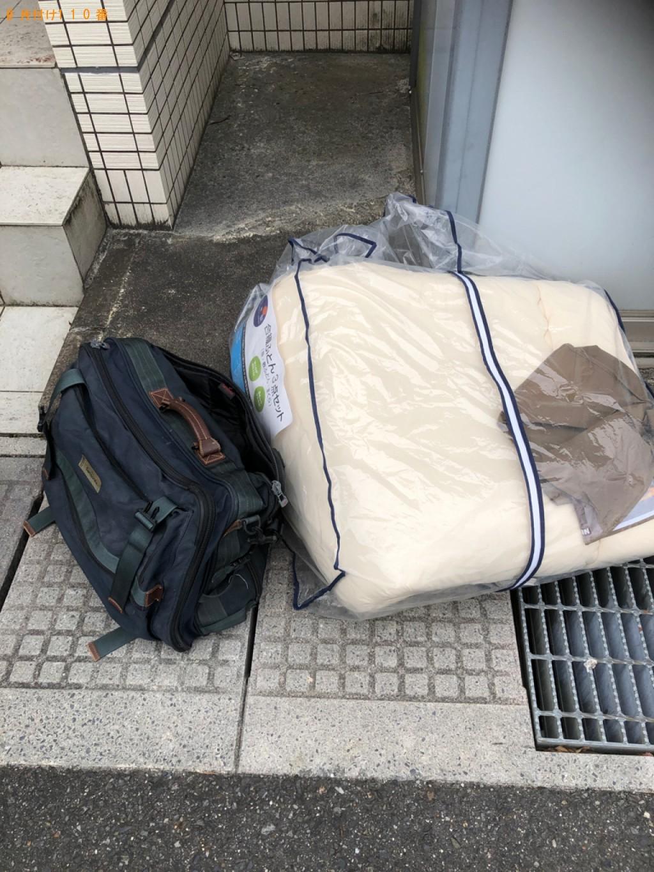 【草津市】小型家電、布団、バッグ等の回収・処分ご依頼 お客様の声