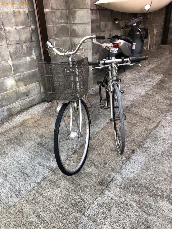 【大津市】自転車の回収・処分ご依頼 お客様の声