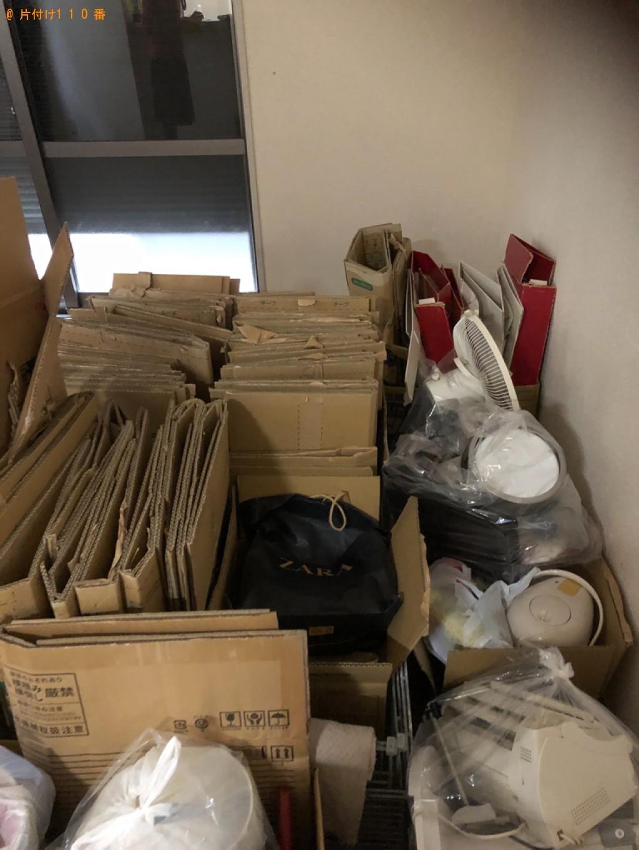 【大津市】本棚、ガスコンロ、電子レンジ、ダンボール等の回収・処分