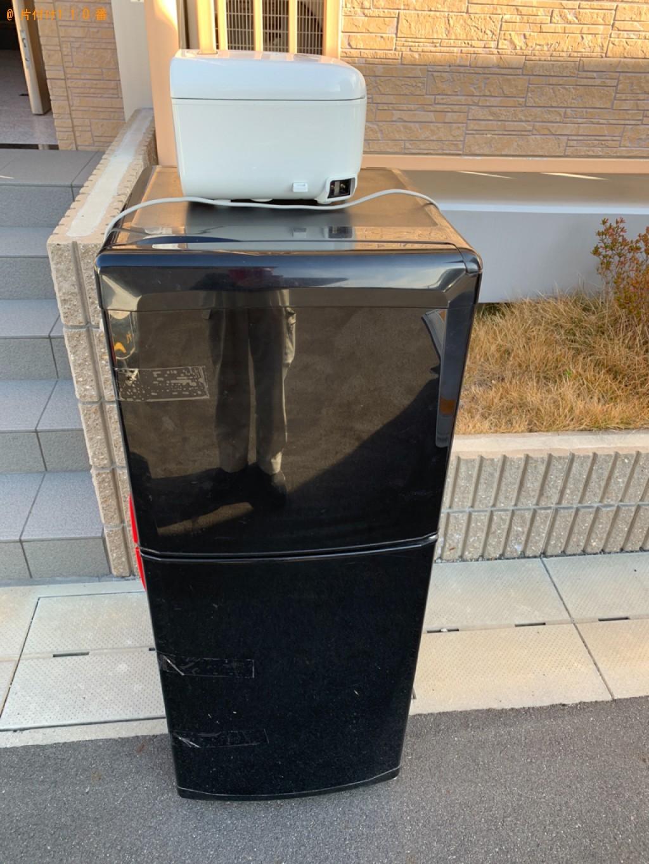 【湖南市】冷蔵庫、炊飯器の回収・処分ご依頼 お客様の声
