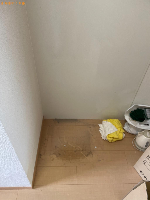 【彦根市高宮町】冷蔵庫、洗濯機、カーペット等の回収・処分ご依頼