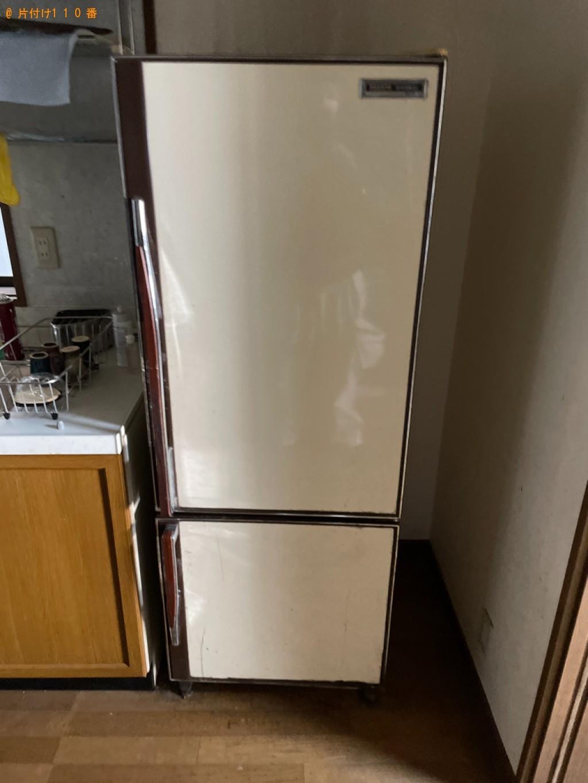 【大津市】冷蔵庫、マッサージチェアの回収・処分ご依頼 お客様の声