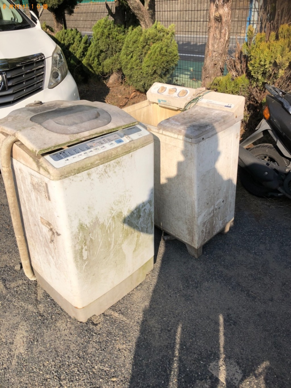 【栗東市】洗濯機の回収・処分ご依頼 お客様の声