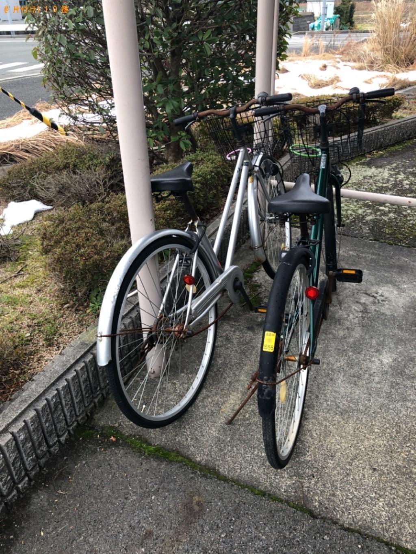 【高島市】自転車の回収・処分ご依頼 お客様の声