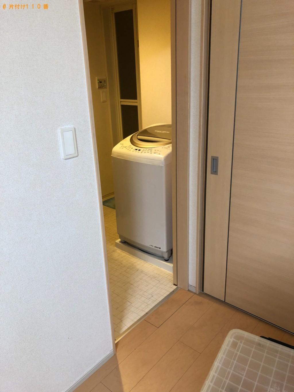 【長浜市平方町】冷蔵庫、電子レンジ、洗濯機、スーツケース等の回収