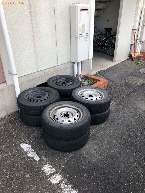 【蒲生郡日野町】自動車タイヤの回収・処分ご依頼 お客様の声