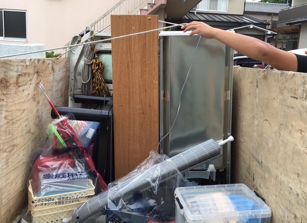 【大津市】本棚、冷蔵庫など回収のお客様 匿名希望様(女性)