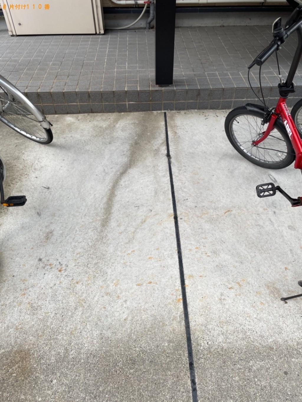 【大津市】自転車の回収・処分ご依頼 お客さまの声