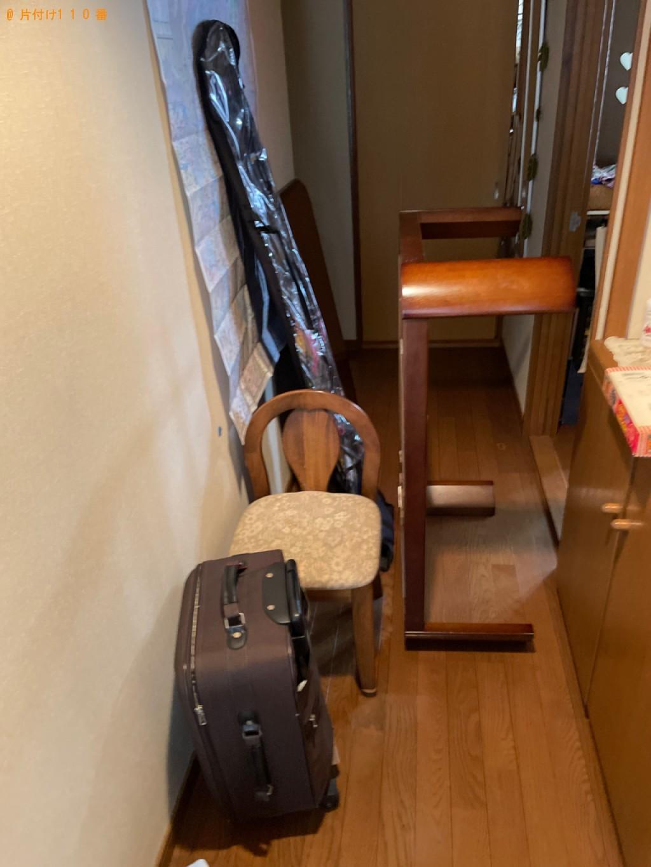 【大津市粟津町】鏡台、ローテーブル、椅子、スーツケース等の回収