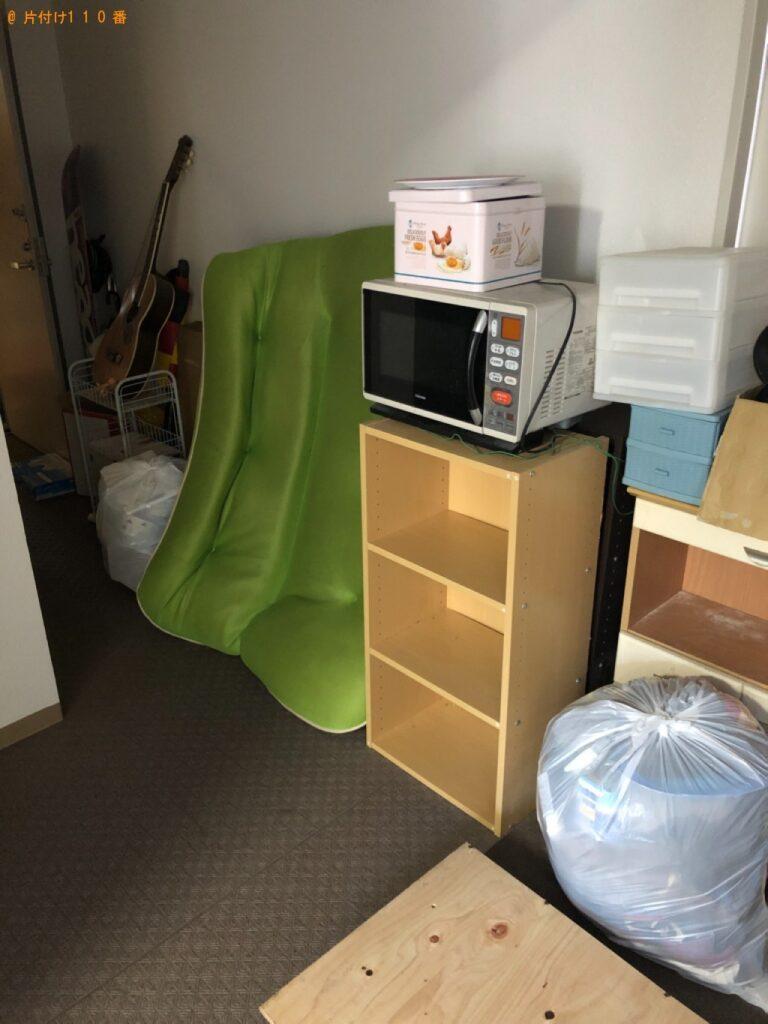 【板橋区】冷蔵庫、洗濯機、マットレス付きセミダブルベッド等の回収