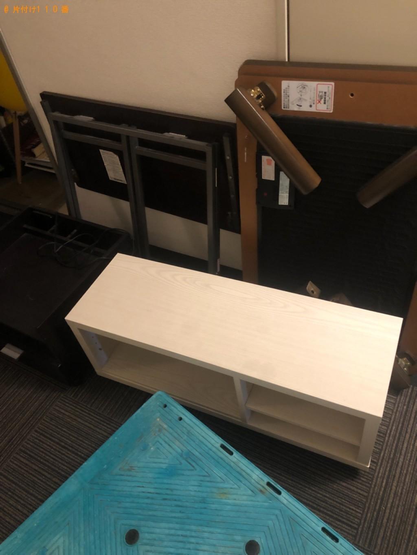【草津市】テレビ、こたつ、椅子、ラック、テレビ台等の回収・処分