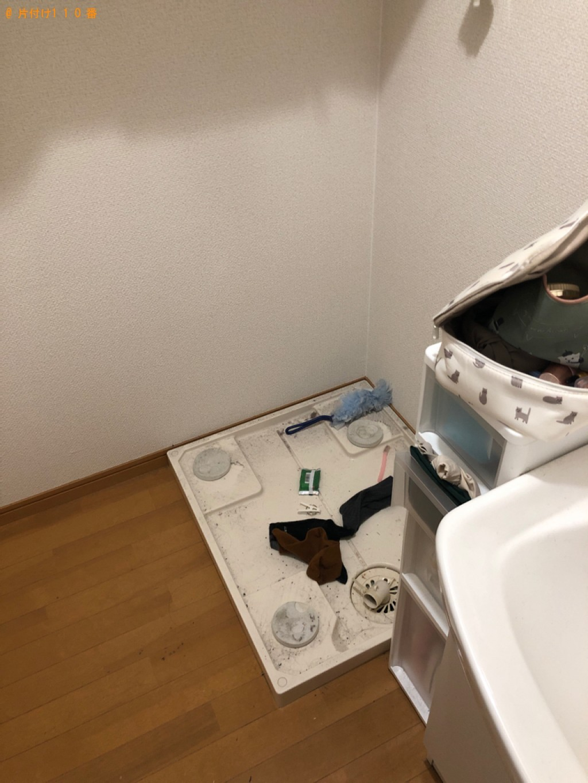 【大津市】洗濯機の回収・処分ご依頼 お客様の声