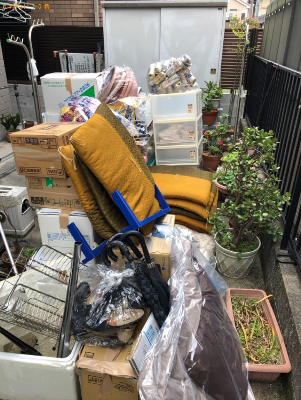 【大津市杉浦町】座布団、傘、発泡スチロール、一般ごみ等の回収