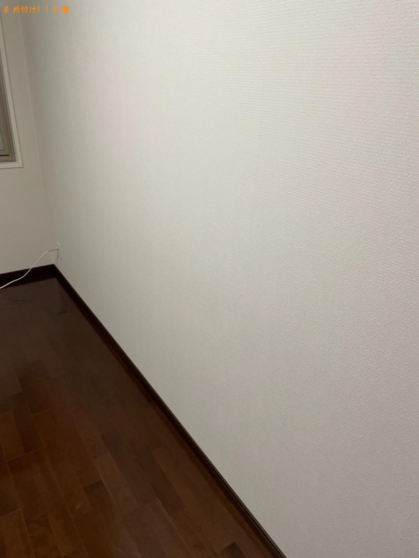 【草津市】マットレス付きダブルベッドの回収・処分ご依頼