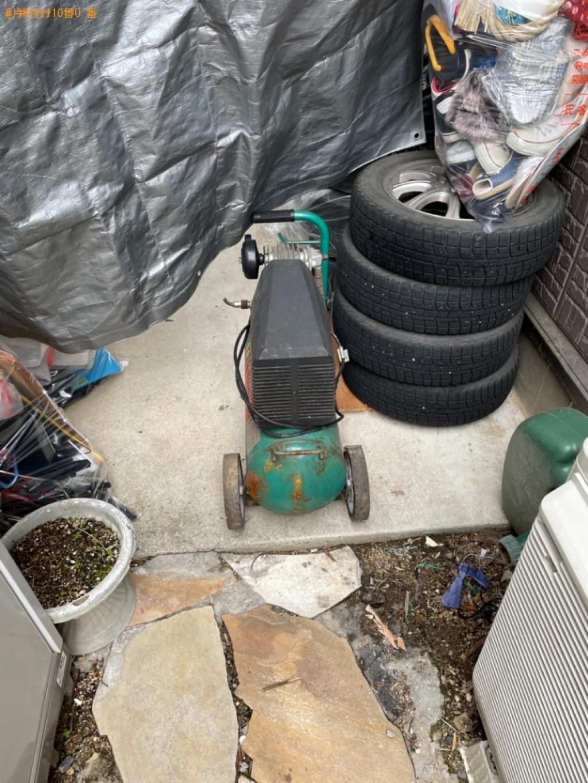【守山市木浜町】エアコン、タイヤ、機械、一般ごみ等の回収・処分