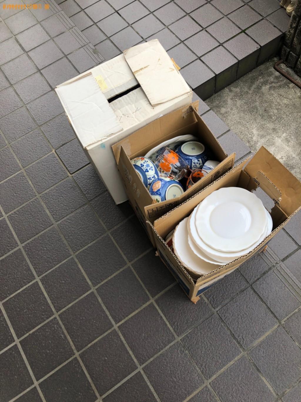 「近江八幡市西庄町】布団、食器、クッション等の回収・処分ご依頼