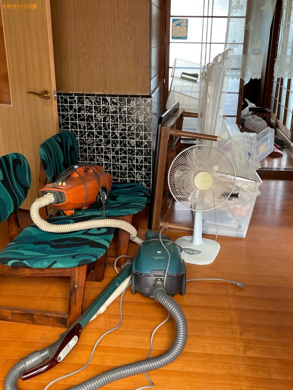 【長浜市曽根町】椅子、こたつ、扇風機、掃除機、エアコン等の回収