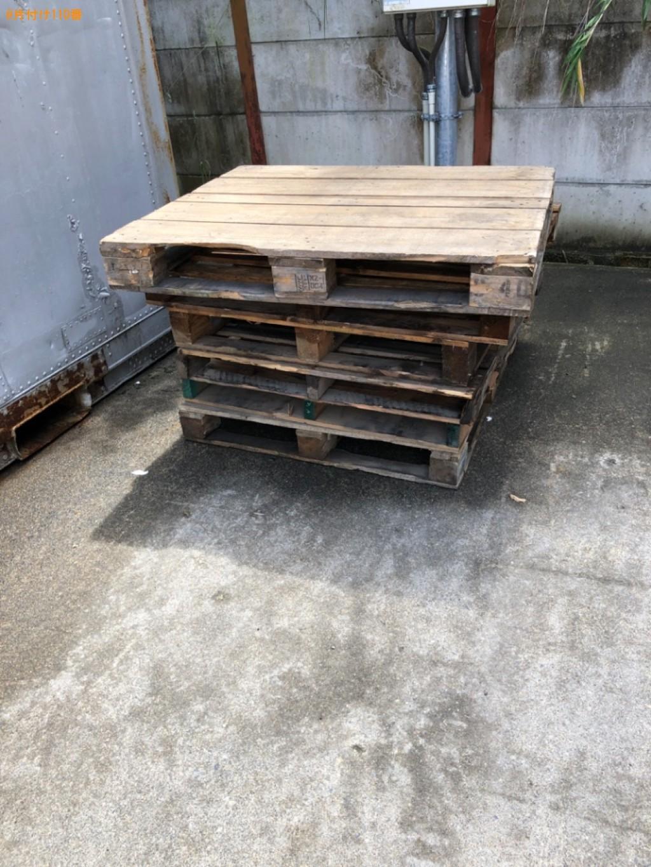 【近江八幡市】木製パレットの回収・処分ご依頼 お客様の声