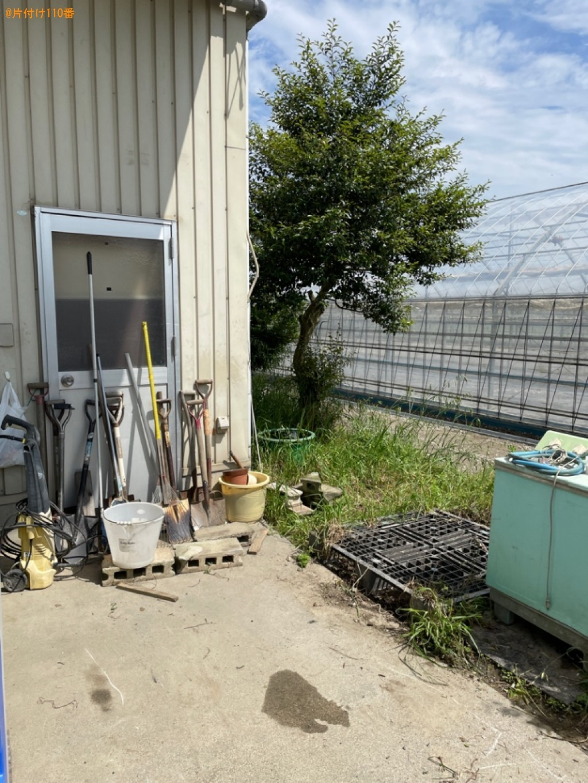 【東近江市栗見新田町】仮設トイレの回収・処分ご依頼 お客様の声