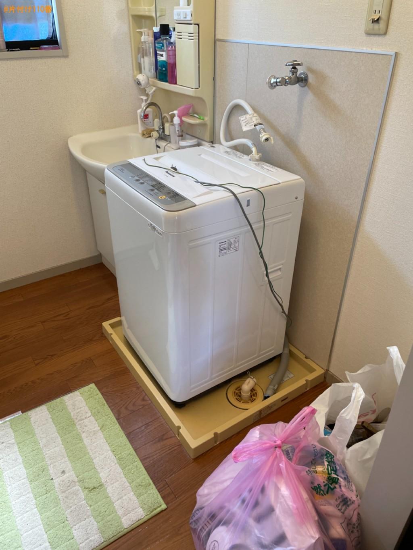 【野洲市】洗濯機、ウレタンマットレス、椅子、ラック等の回収・処分
