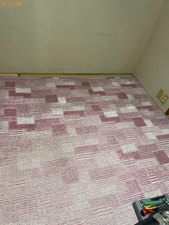 【大津市陽明町】電動ベッド、シングルベッドマットレスの回収・処分