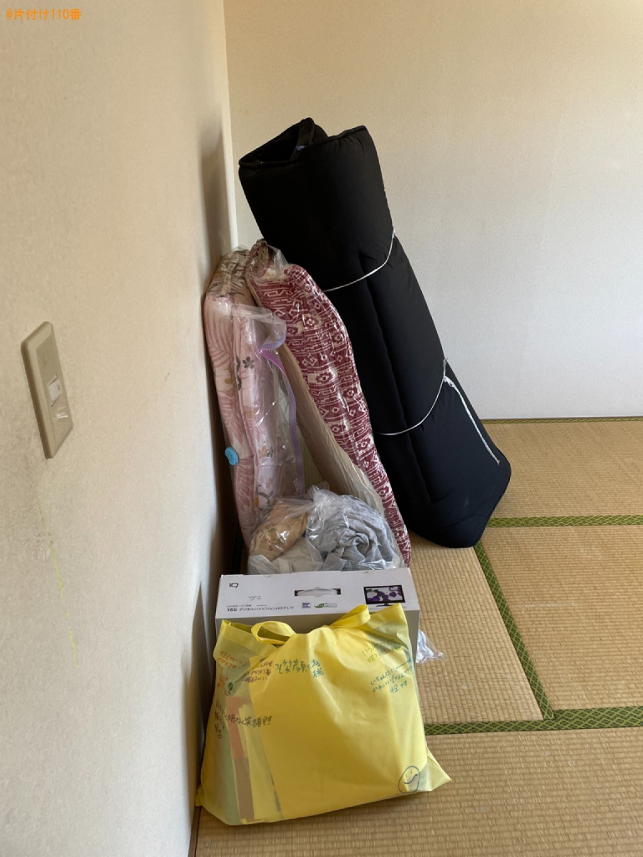 【大津市】こたつ、ガスコンロ、ソファー、物干し竿、布団等の回収