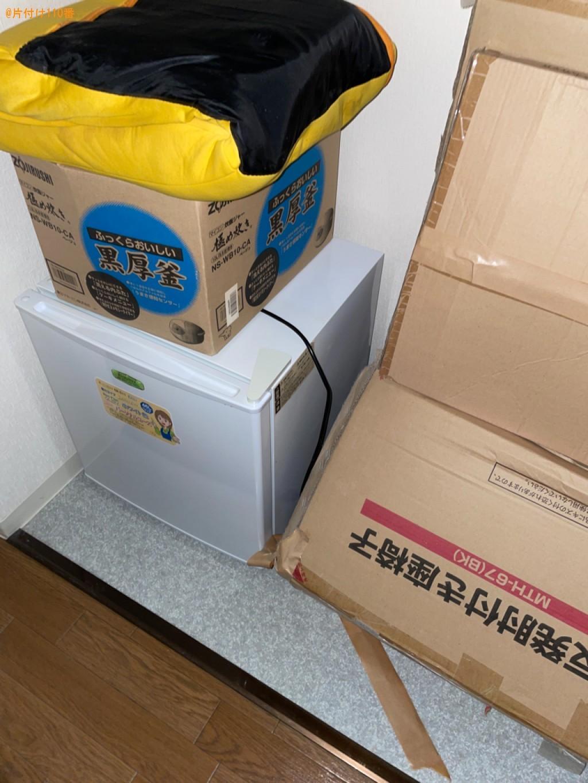 【草津市】冷蔵庫、椅子、ローテーブル、炊飯器等の回収・処分ご依頼
