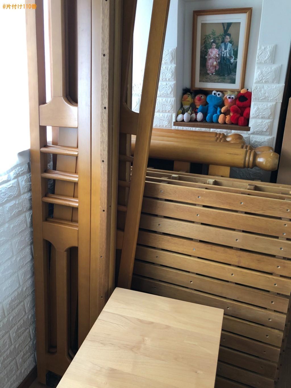 【近江八幡市鷹飼町】二段ベッド、鏡台、ベビータンス等の回収・処分
