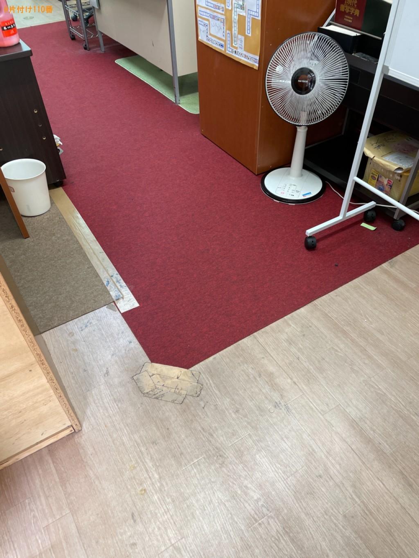 【草津市】二人用ダイニングテーブル、椅子、テーブルの回収・処分