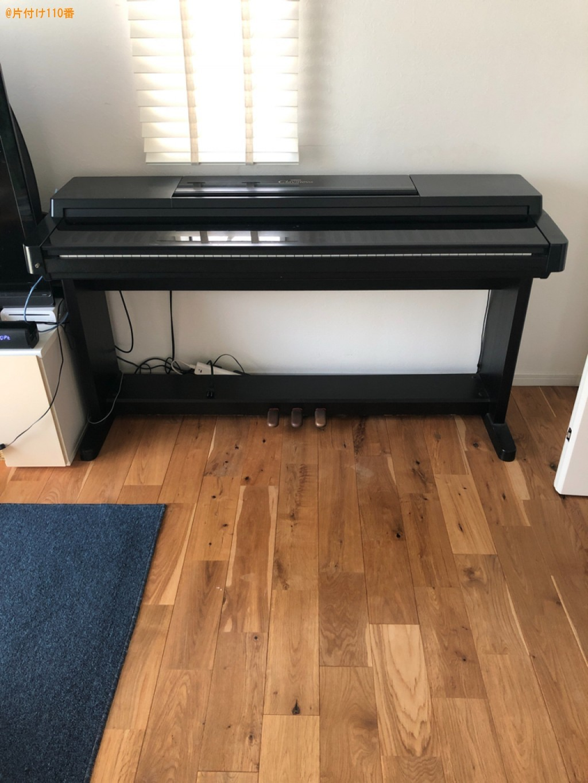 【大津市】ピアノの回収・処分ご依頼 お客様の声
