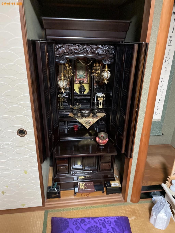 【草津市】仏壇、仏具の回収・処分ご依頼 お客様の声