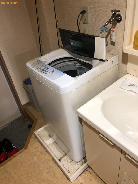 【近江八幡市】洗濯機、メタルラック、コンポ、テーブル等の回収
