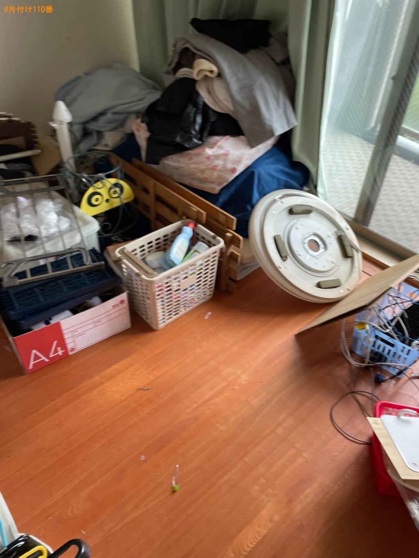 【大津市】布団、照明器具、ヒーター、ローテーブル、カゴ等の回収
