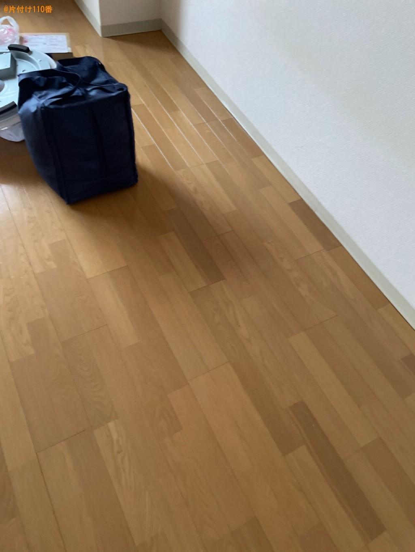 【草津市】二人用ダイニングテーブル、シングルベッド、椅子等の回収