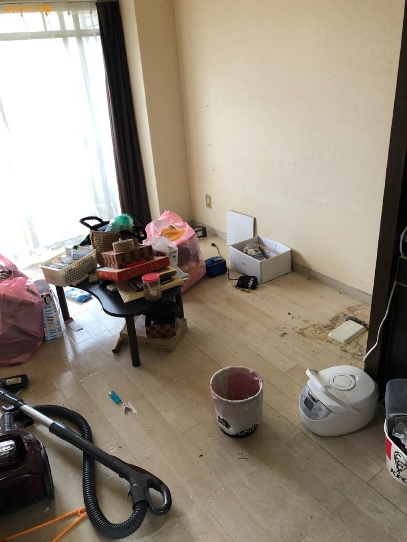 【栗東市】冷蔵庫、カーペット、コーナーソファー、一般ごみ等の回収