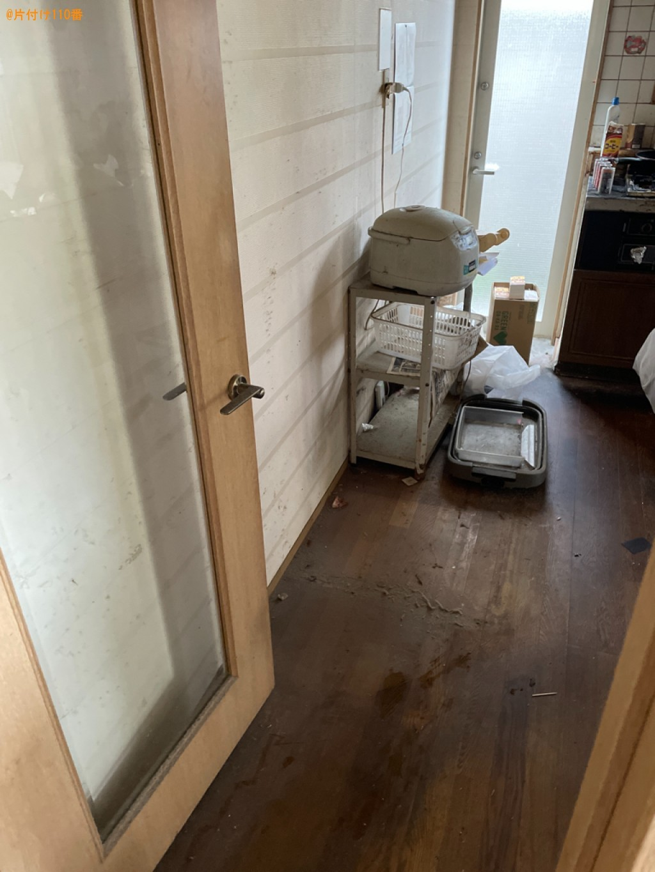 【湖南市】冷蔵庫、マットレス付きダブルベッド、テレビ等の回収