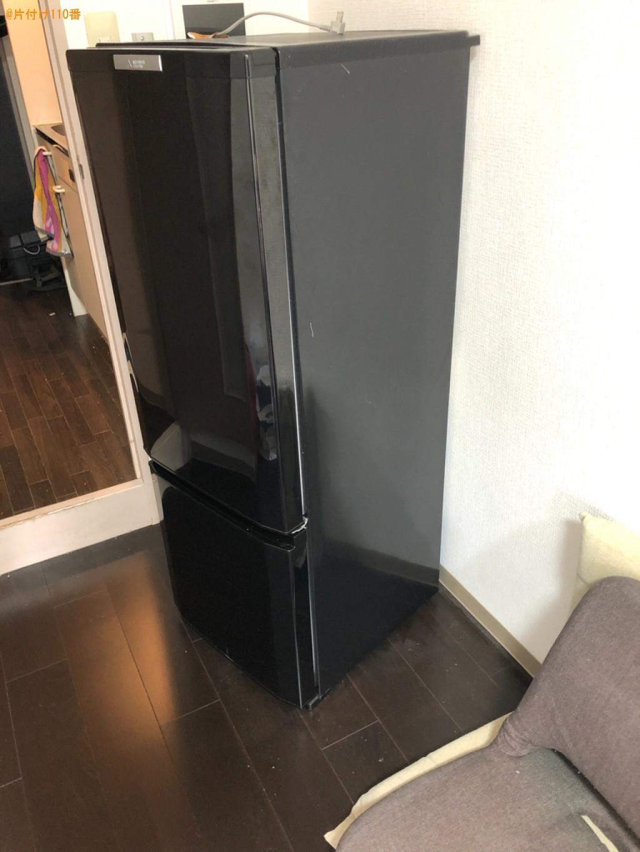 【草津市】冷蔵庫、洗濯機、ウレタンマットレス、学習机の回収・処分