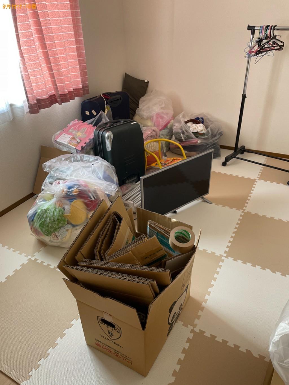 【草津市】カラーボックス、ハンガーラック、スーツケース等の回収